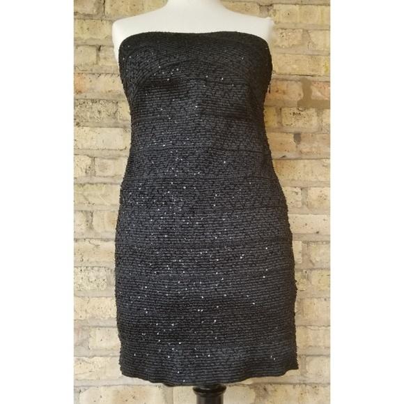 743537fd9309 Forever 21 Dresses | Sequined Bandage Dress | Poshmark